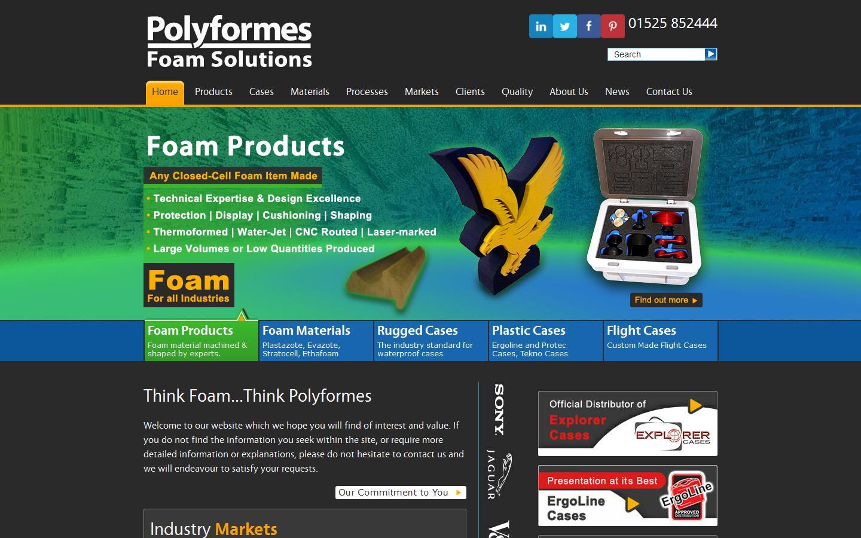 Polyformes Ltd Leighton Buzzard Bedfordshire Lu7 4uh