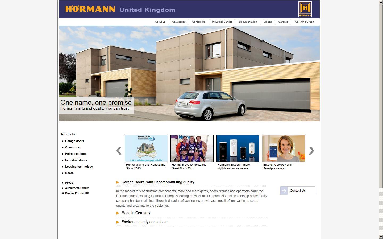 hormann uk ltd coalville leicestershire le67 4jw. Black Bedroom Furniture Sets. Home Design Ideas