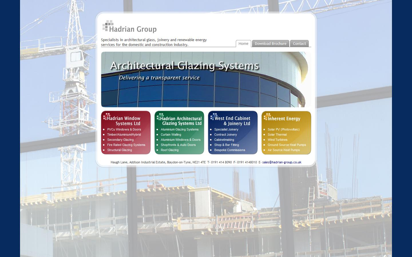 Architectural Glazing Systems : Hadrian architectural glazing systems ltd blaydon on tyne