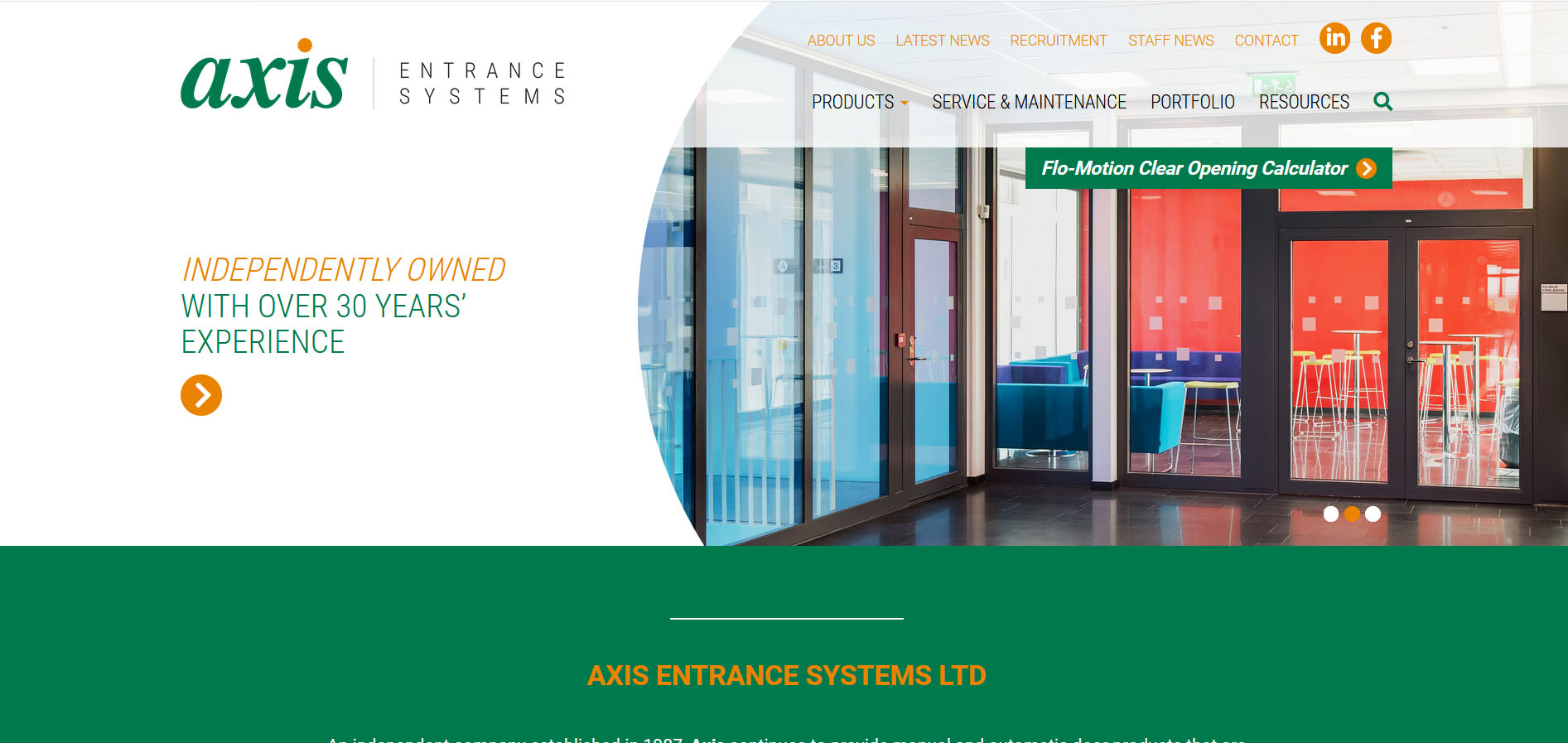 Axis Automatic Entrance Systems Ltd Northampton Nn2 6na