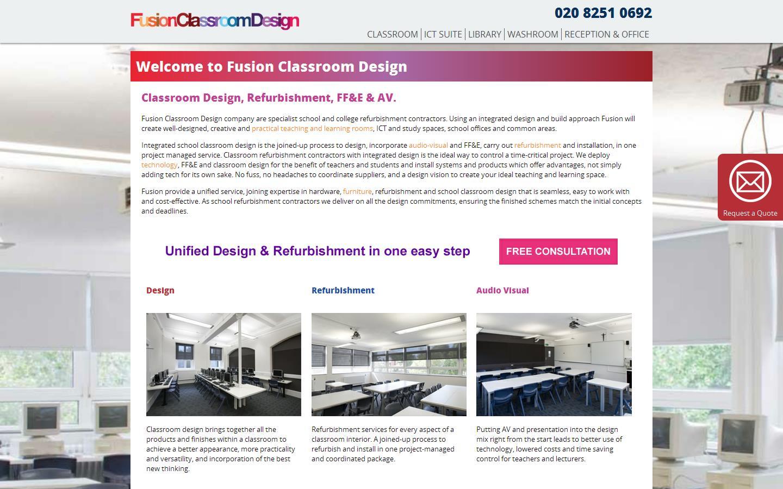 Classroom Design Companies : Fusion classroom design sutton surrey sm pp