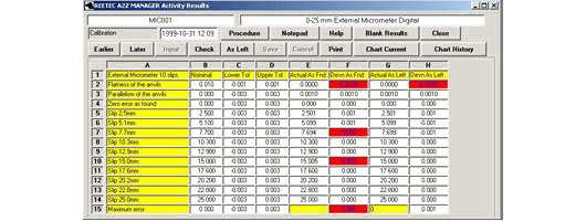 Computer software for calibration, gauge & quality management from Retriever Technology Ltd - image 3