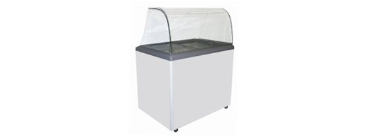 Unbranded Entry Level Scooping Freezers (with screen)