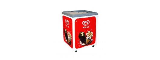 Walls branded ice cream freezer- Vista 6