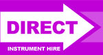 Direct Instrument Hire Logo
