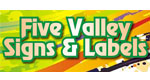 Five Valley Signs & Labels Logo