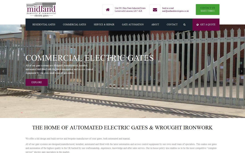 Midland Electric Gates, Lutterworth, Leicestershire, LE17 4LR