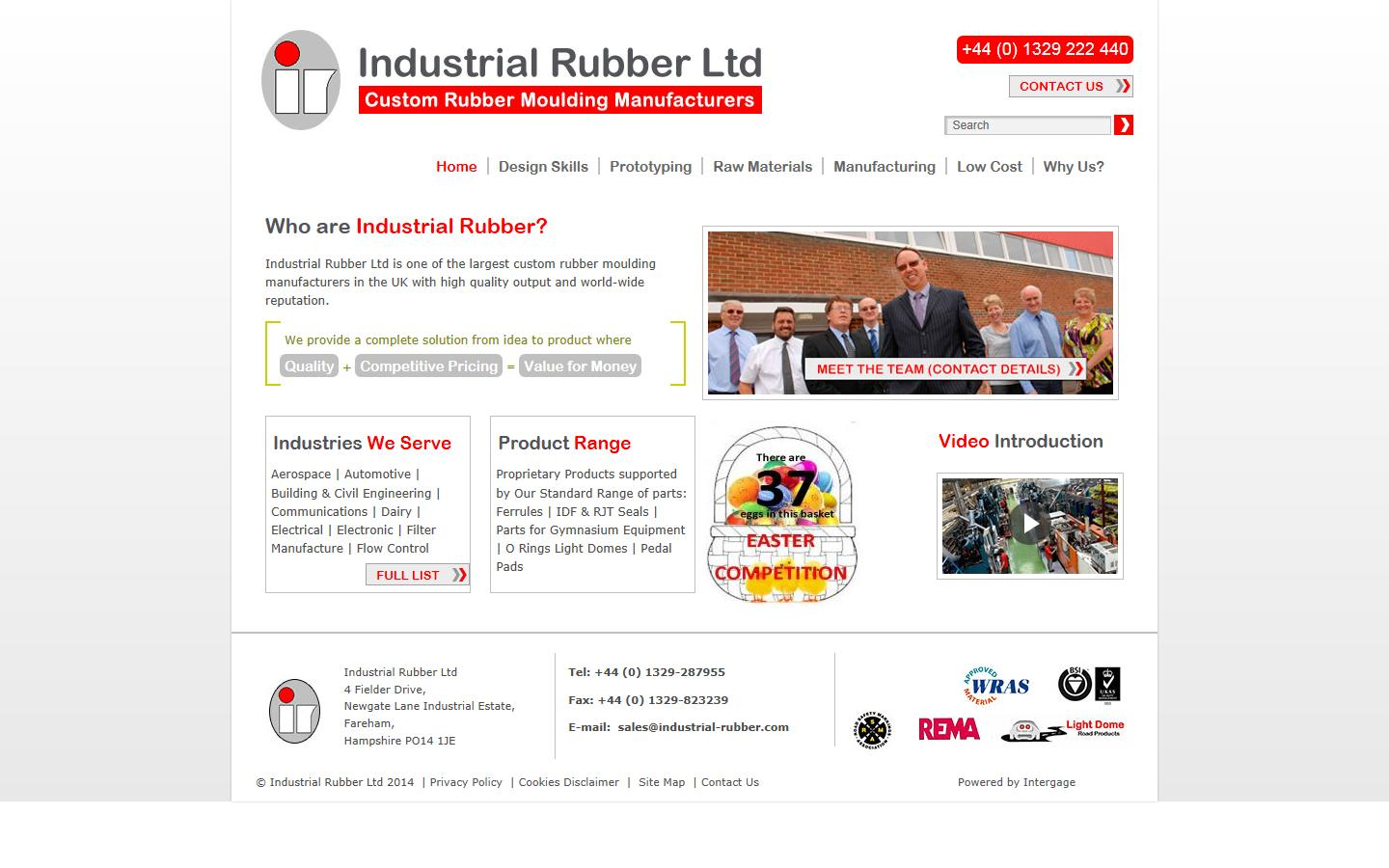 Industrial Rubber Ltd, Fareham Hampshire, PO14 1JE