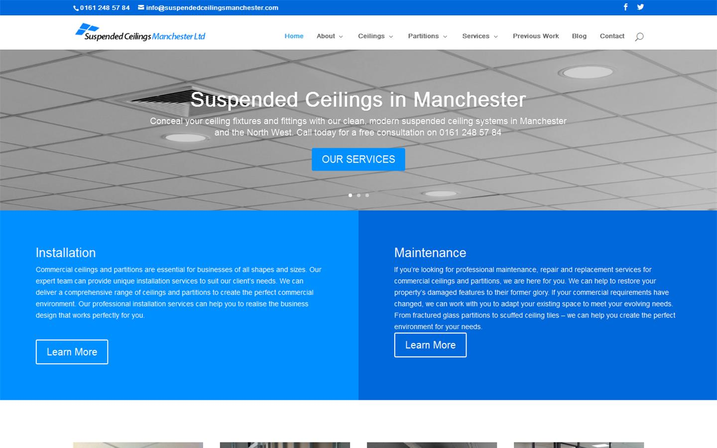 Suspended Ceilings Manchester Ltd Manchester M19 2pd