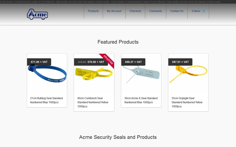 Acme Seals Ltd, Witham, Essex, CM8 3AA
