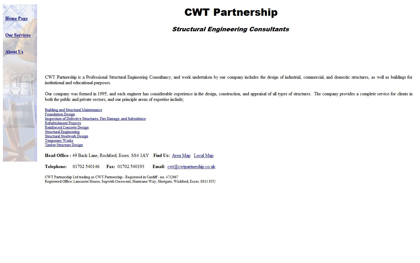 C W T Partnership, Essex, SS4 1AY