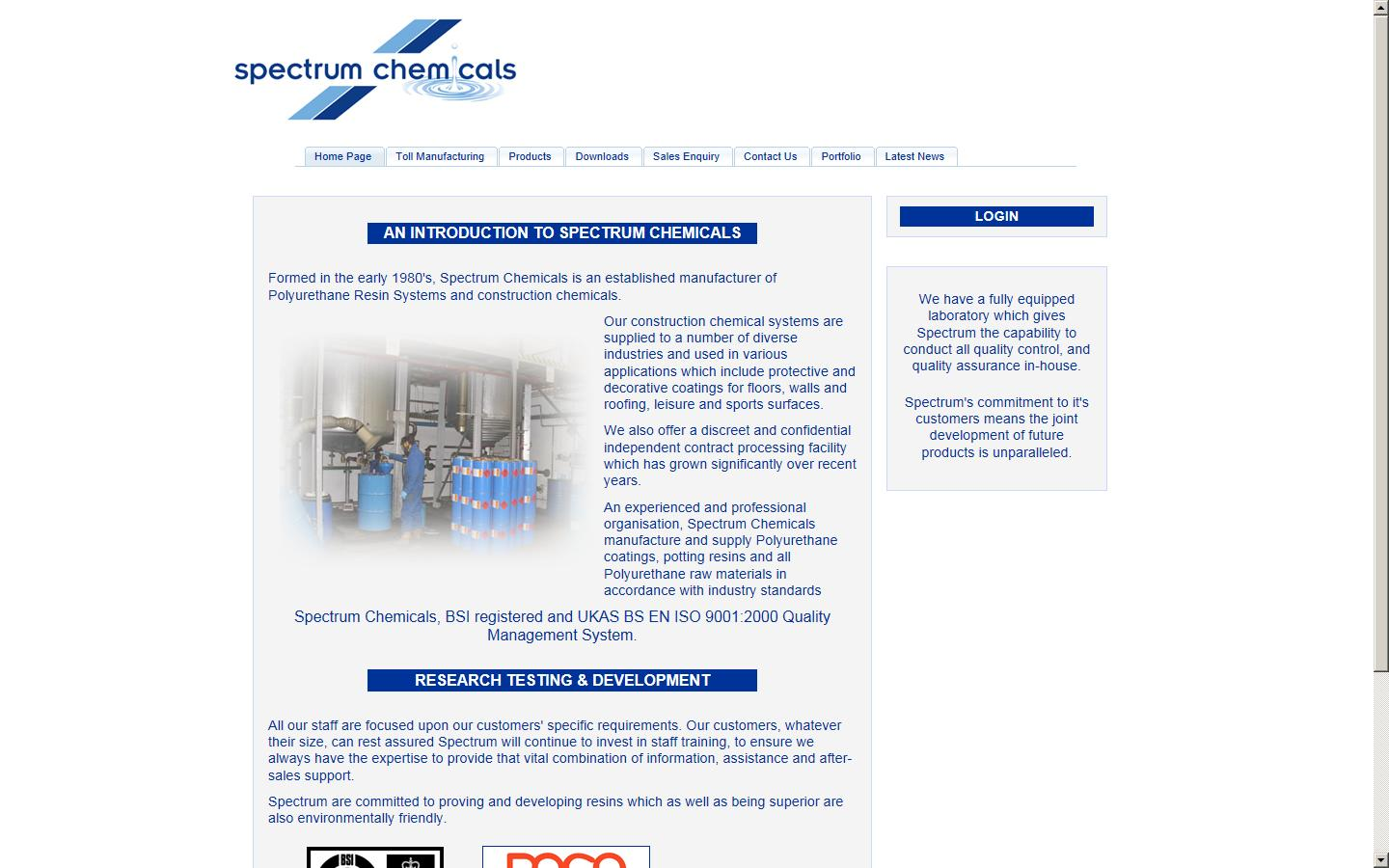 Spectrum Chemicals Ltd, Northamptonshire, NN29 7PR