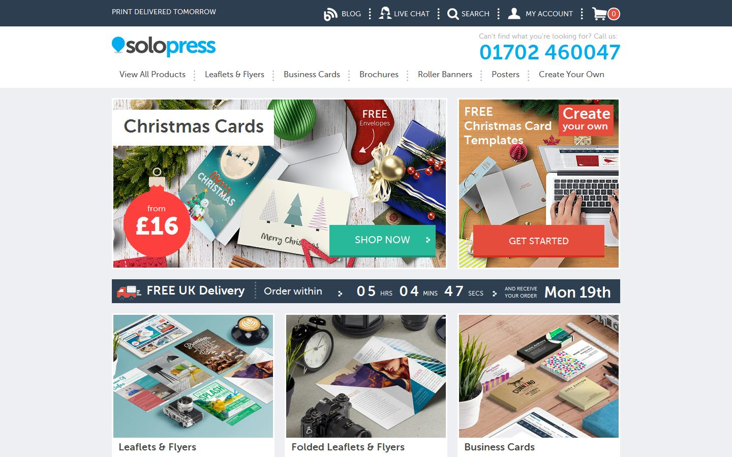 Solopress essex ss2 5qf solopress solopress provide 24 hour turnaround premium quality printing on banners brochures business cards compliment slips flyers folders reheart Images