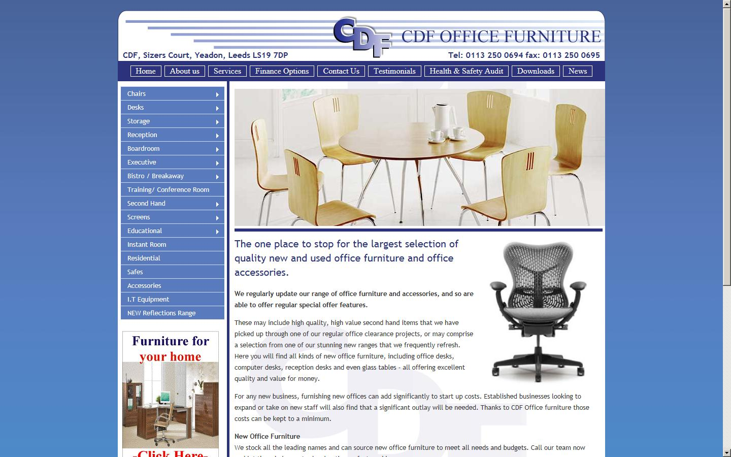 Office furniture leeds - Cdf Supplies The Full Range Of Office Furniture With Free Delivery And Installation