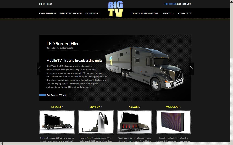 Big TV UK Ltd , West Yorkshire, BD12 8HZ