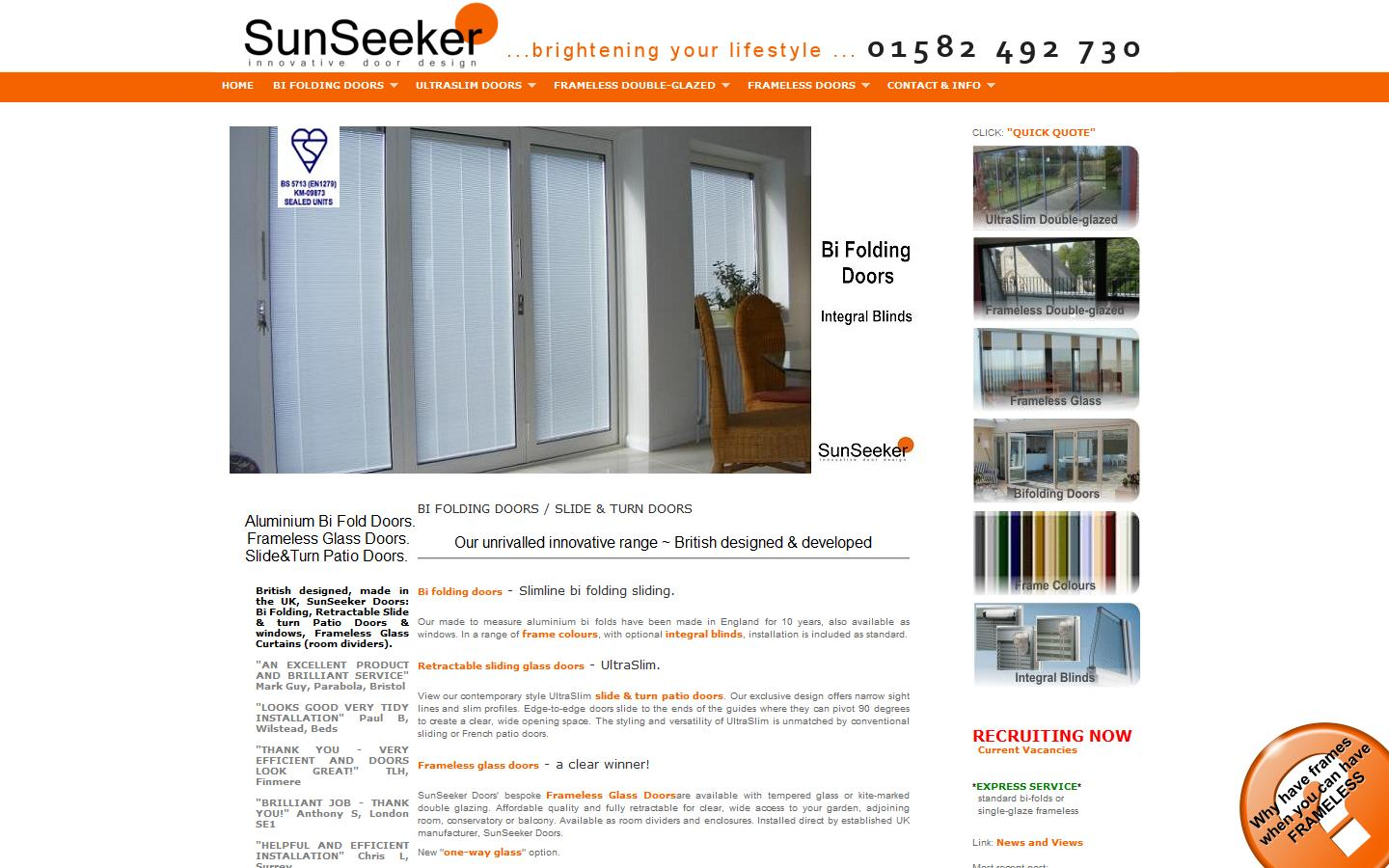 Sponsored Links  sc 1 st  Approved Business & Clear Glass Curtains Ltd T/A SunSeeker Doors Luton Bedfordshire ...