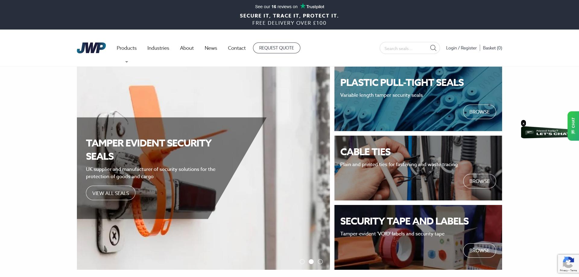 Tamper Evident Security Seals | Hubodometer London