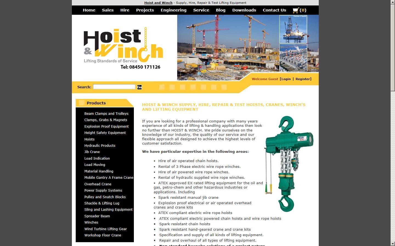 Hoist & Winch Ltd, Liverpool, Merseyside, L37 8DL