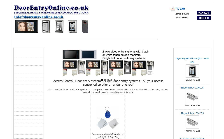 Doorentryonline Ltd Dartford Da1 4sb