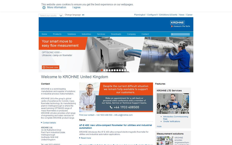 Process measurement instrumentation from global leaders, KROHNE