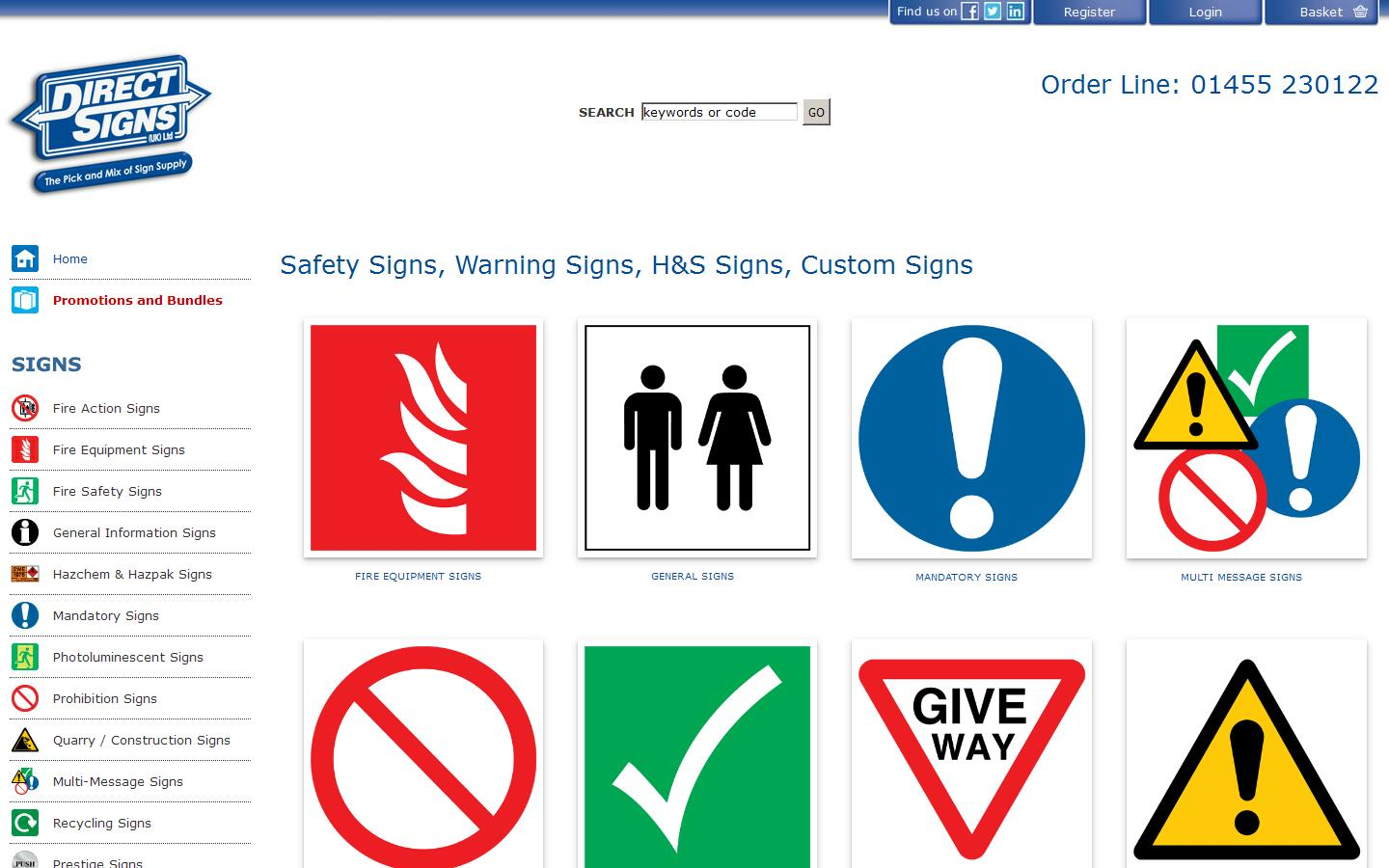 And general information signs our signs come in a variety of materials -  Traffic Signs Kitchen Safety Signs Tags Warnings And General Information Signs Direct Signs Can Also Provide A Bespoke Sign Customised To Your Exact