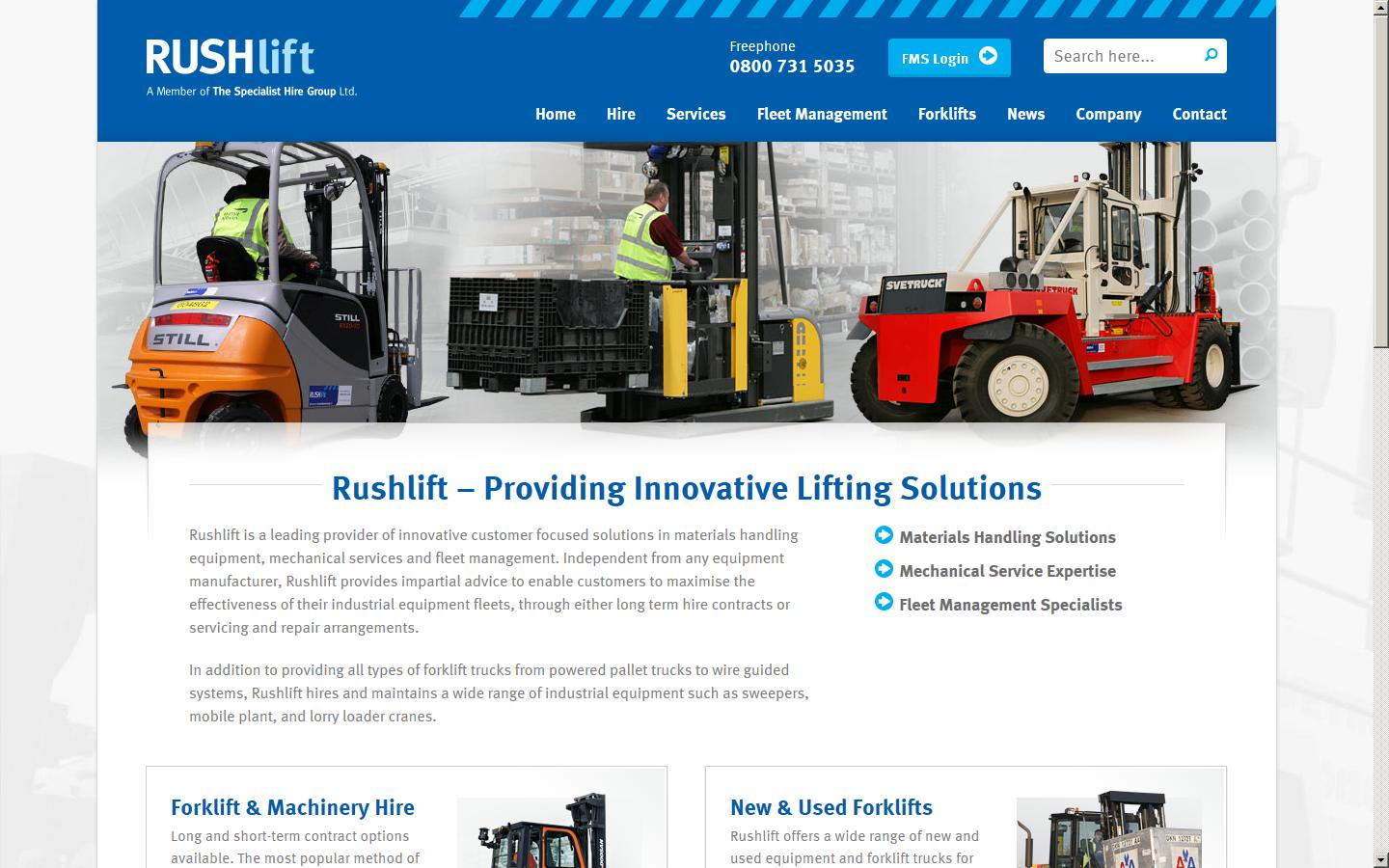 Rushlift Ltd , Bishop Auckland, Durham, DL14 6XB