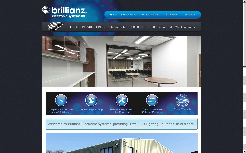 Brillianz Electronic Systems Ltd Welwyn Garden City Welwyn Garden City Hertfordshire Al7 1bj