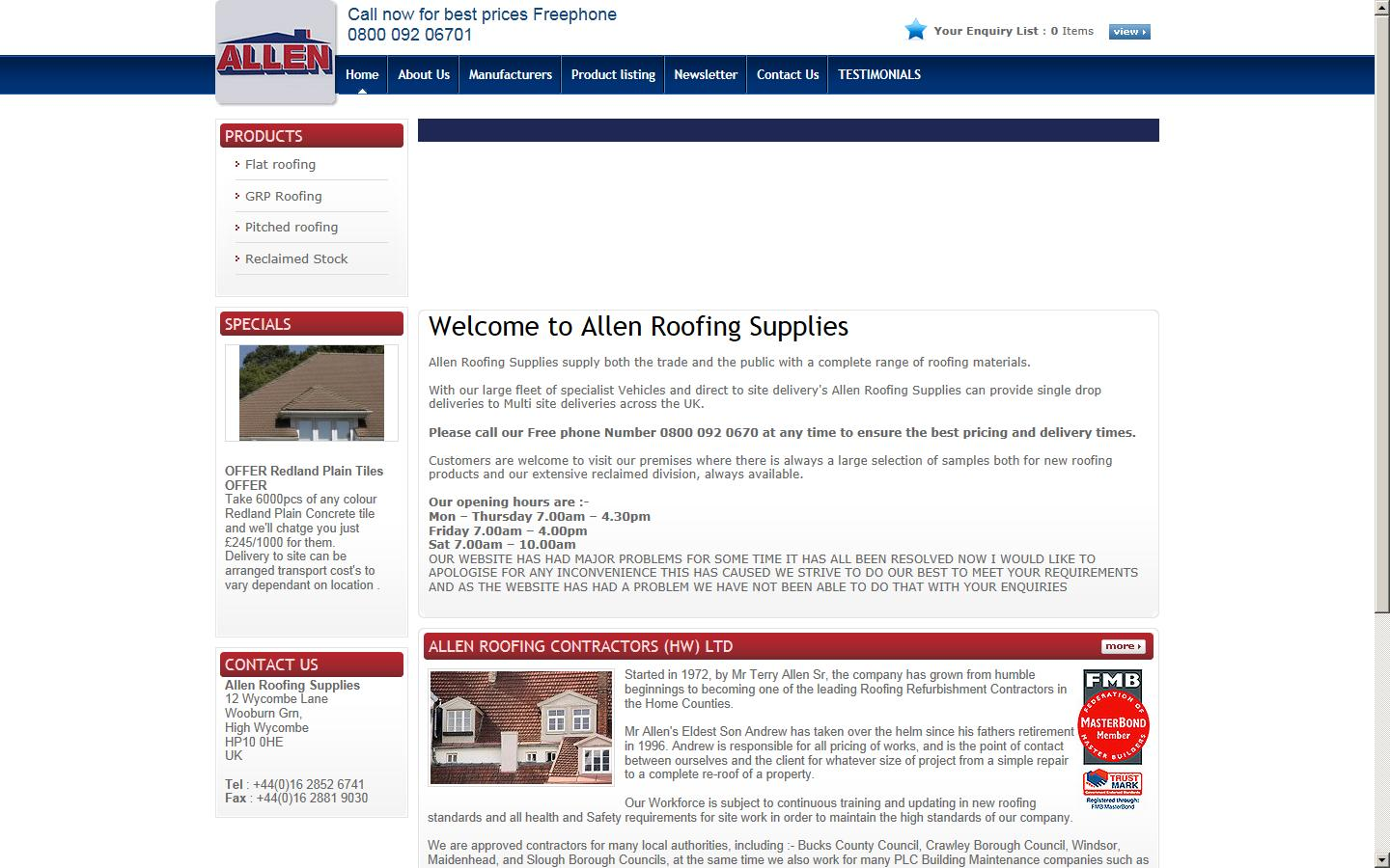 Allen Roofing Supplies Provides Tiling, Slating, Flat Roof U0026 Much  Contracting Services For Domestic U0026 Commercial Sectors In High Wycombe, UK.