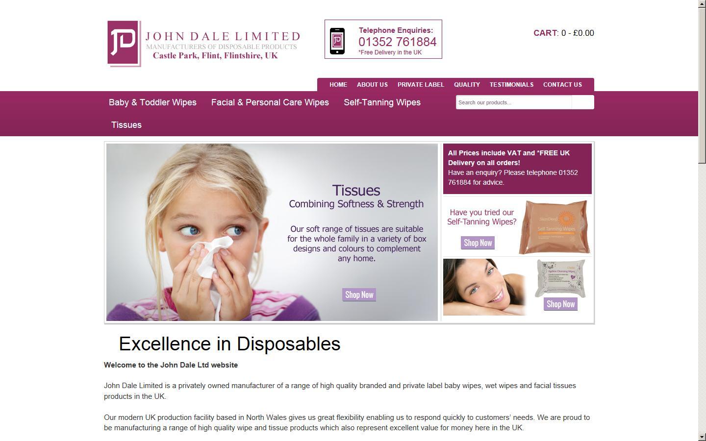 John Dale Ltd, Flint, Flintshire, CH6 5XA