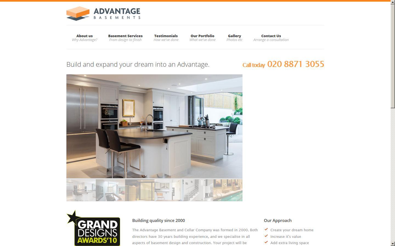 Advantage basements cellar company ltd london london for Advantage basements