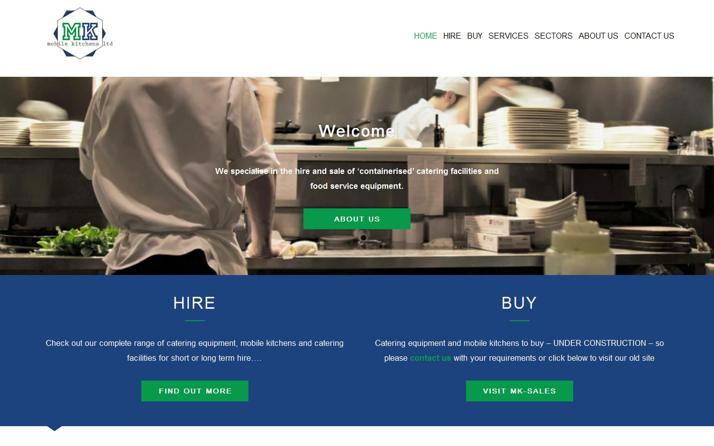 Cointainer Kitchen Hire London, Field Kitchens, Equipment Hire