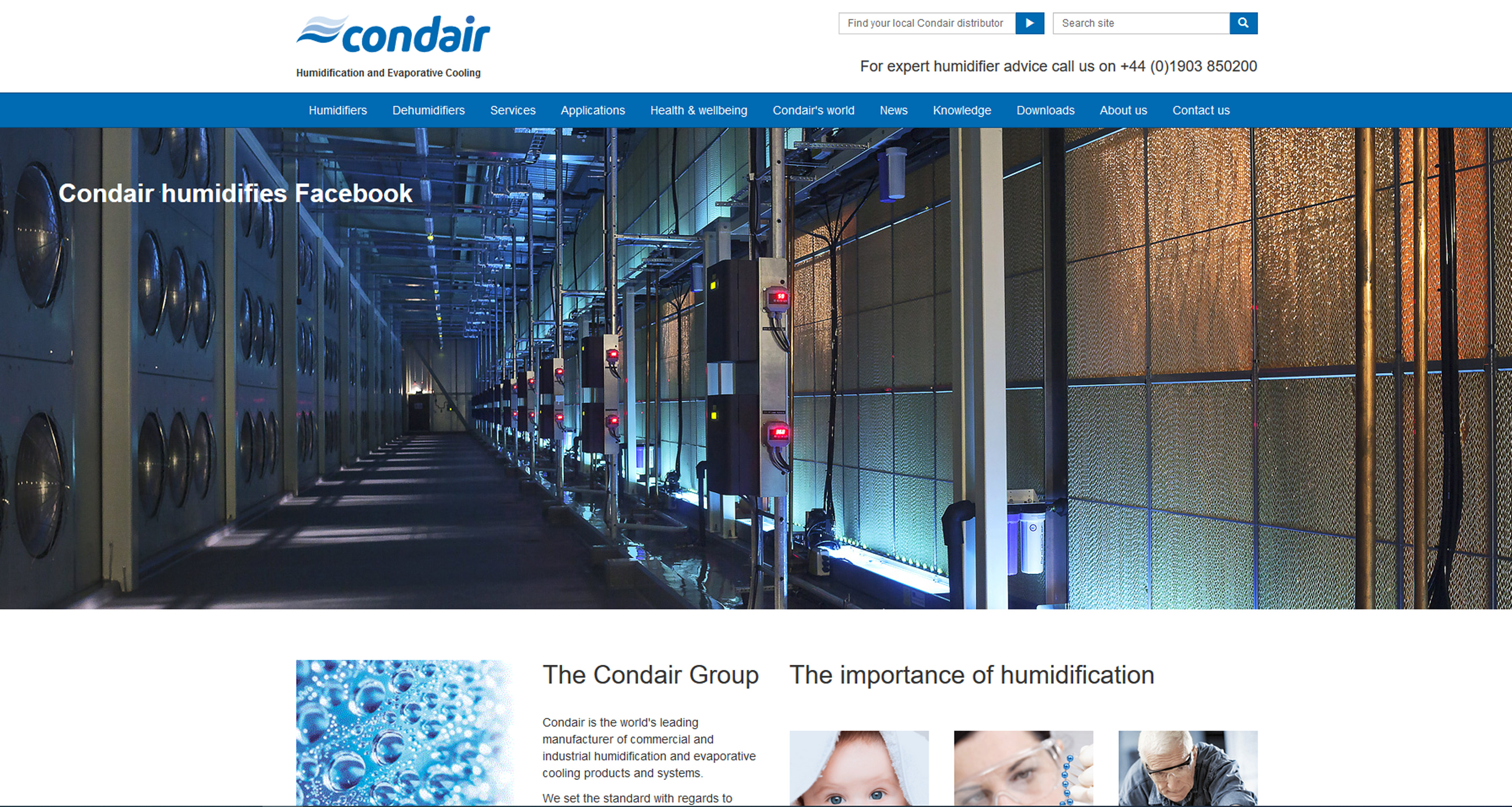 Condair Is The World S Leading Manufacturer And Supplier
