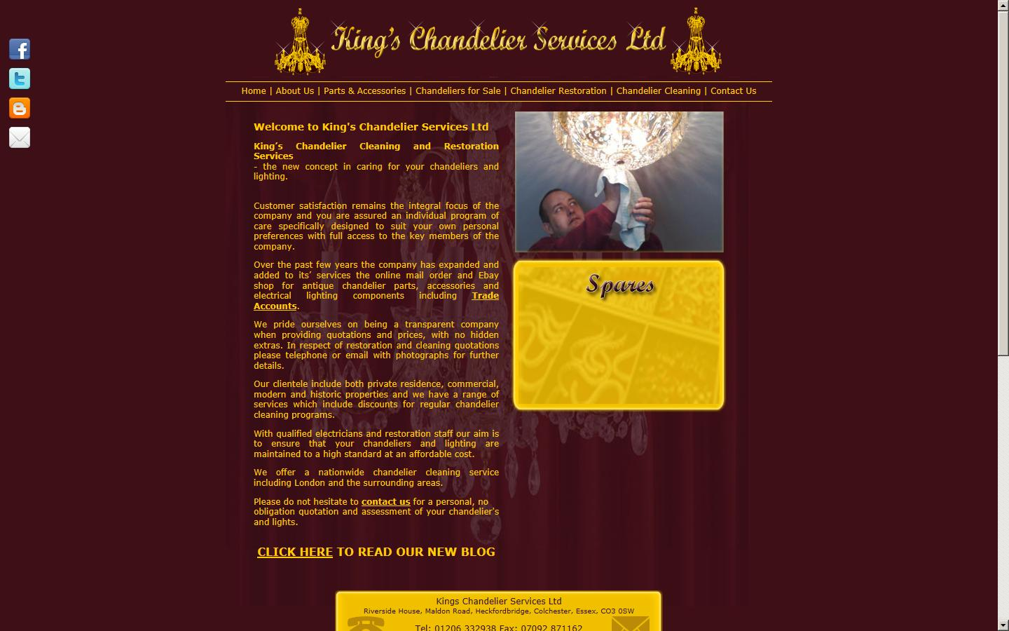 Kings chandelier services ltd colchester essex co3 0sw sponsored links aloadofball Image collections