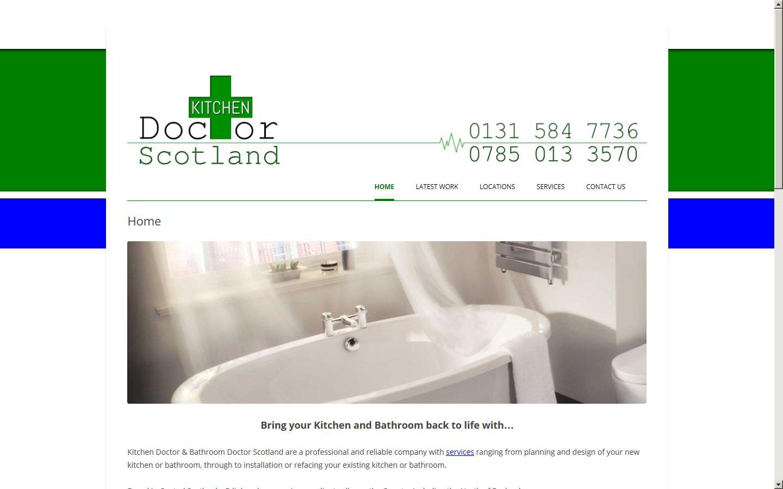 Kitchen Doctor Scotland Edinburgh Edinburgh EH AA - Kitchen design scotland