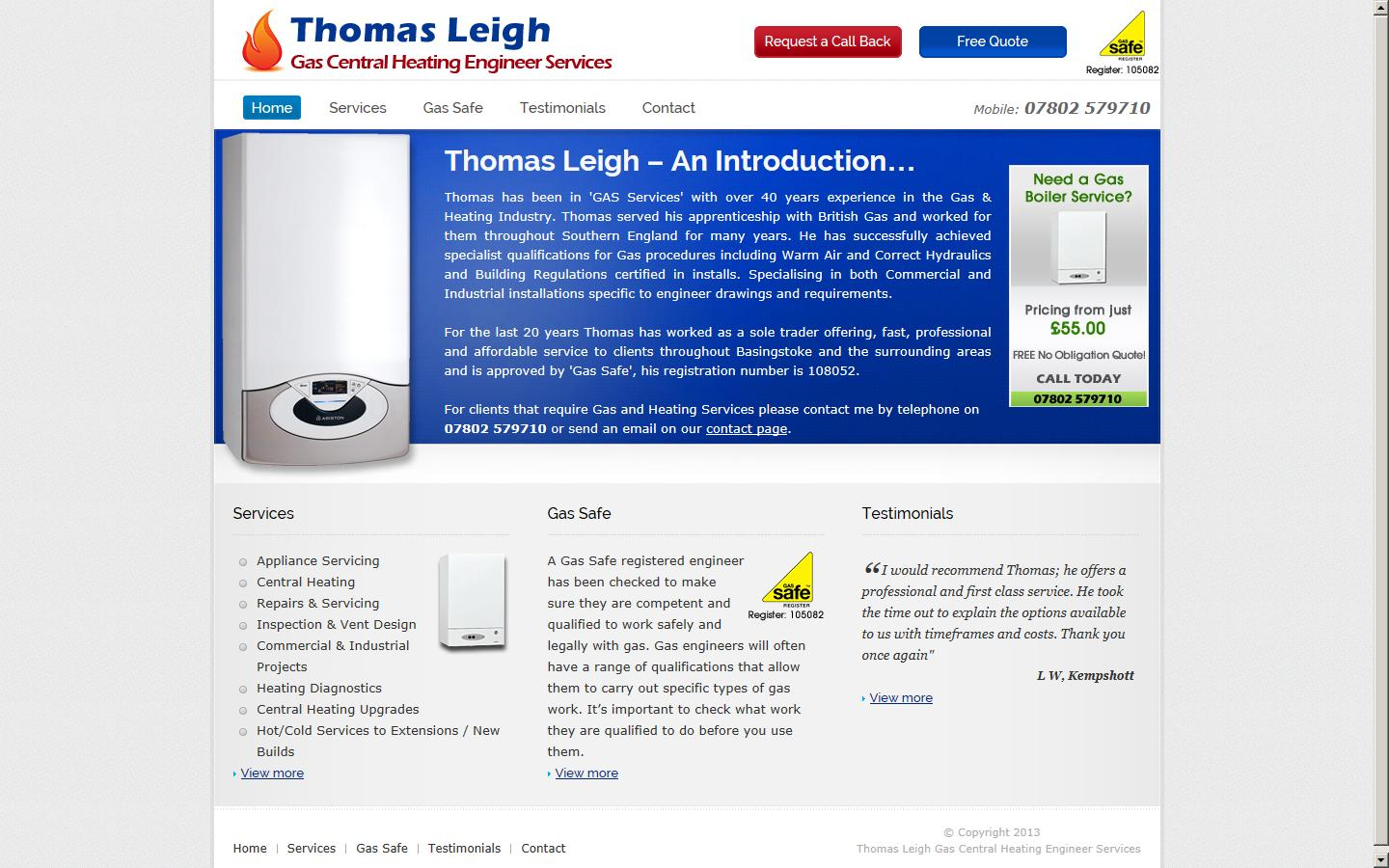 Thomas Leigh, Basingstoke, Hampshire, RG22 5UH