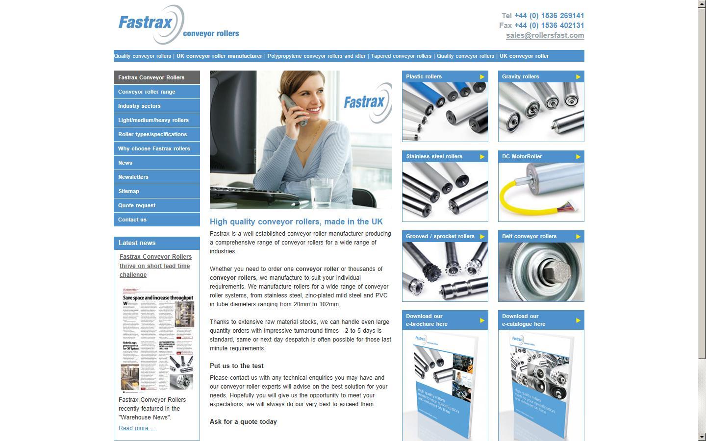 Fastrax Conveyor Rollers, Corby, Northants, NN17 5XY