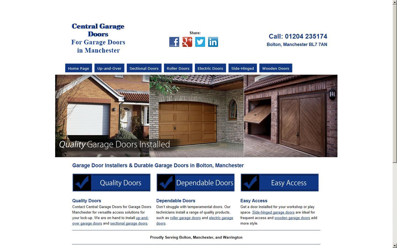 Garage Doors Manchester Warrington Cheshire Wa5 1dd