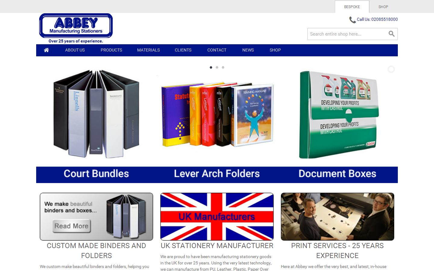 Abbey Stationery Products Ltd, Staines on Thames, Surrey