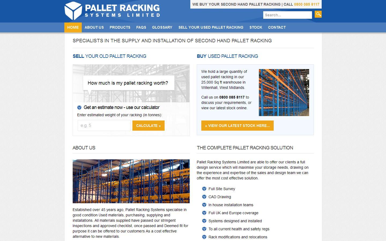 pallet racking calculator