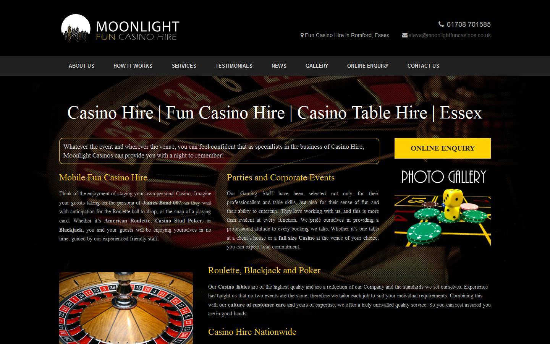 Fun Casino Hire Essex