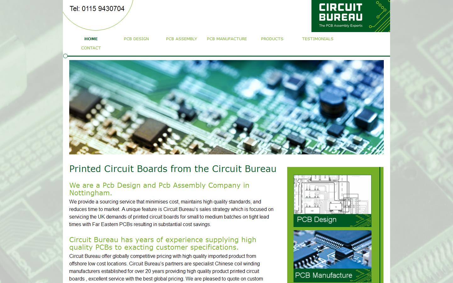 Circuit Bureau Ltd Nottingham Nottinghamshire Ng9 4aa Custom Printed Board Manufacturing And Design View Website