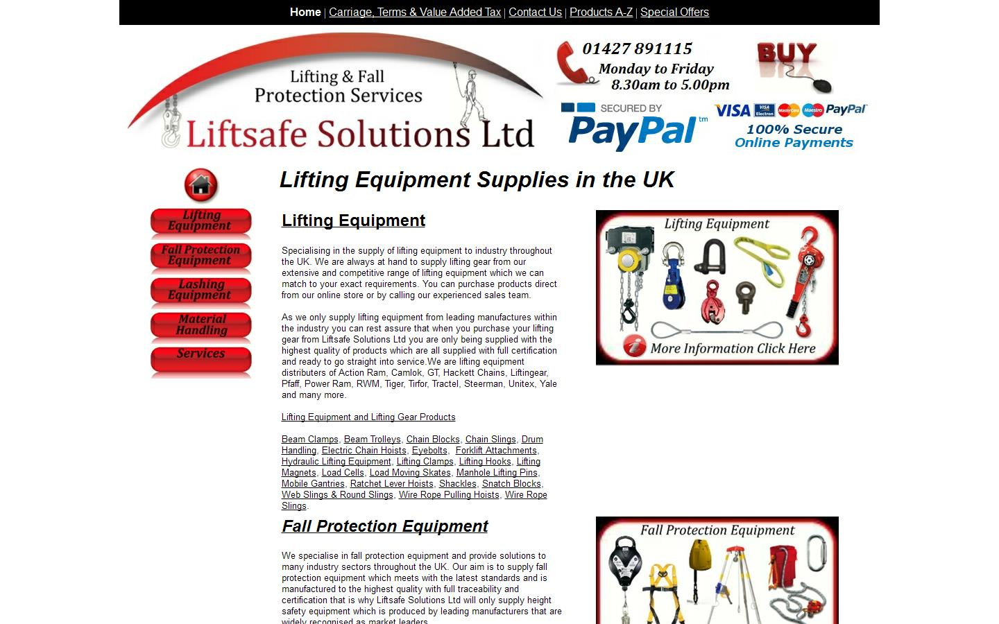 Liftsafe Solutions, Gainsborough , Lincolnshire , DN21 2NS