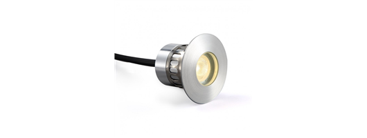 Marine Grade Stainless Steel Recessed 3 Watt LED Light