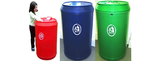 Theme Bins Drinks Can Bin