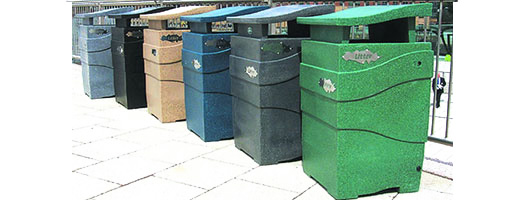 Theme Bins Imperial Litter Bin
