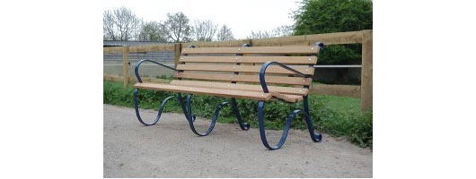 Wood / Steel Benches