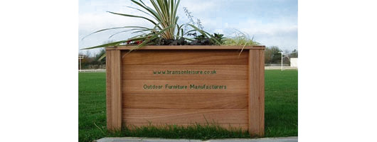 Engraved Planters