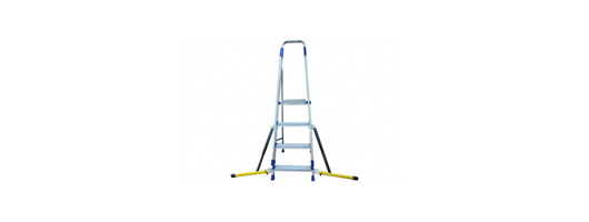Stabilised Aluminium Stepladder