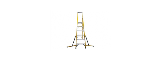 Stabilised Fibreglass Stepladder