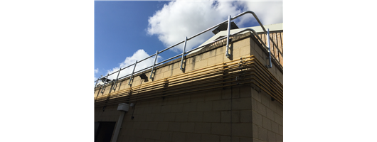 Fixed Parapet Handrails and Guardrails for Fixed Edge Protection
